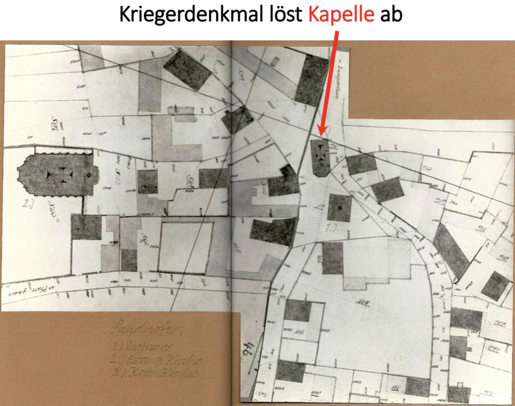 Katasterplan von 1895